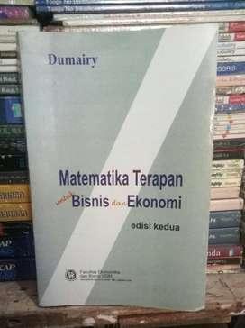 Matematika Terapan untuk Bisnis dan Ekonomi - Dumairy