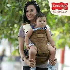 Gendongan baby carrier hipseat dialogue
