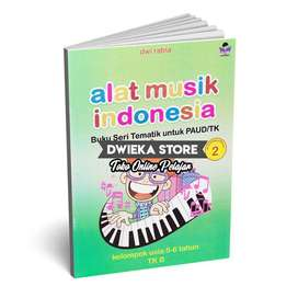 Buku TK B Tematik Semester 2 (5 - 6 Tahun) Alat Musik Indonesia