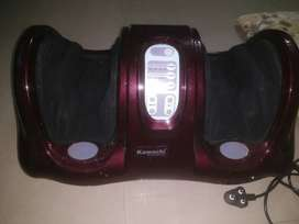 Black And Red Foot Massager