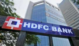 Urgently requirements in HDFC bank in Sector 15 noida.