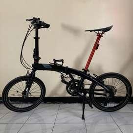 Sepeda lipat element ecosmo 7 upgrade gratis ongkir