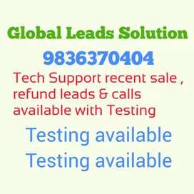 TECH SUPPORT SALE AND REFUND LEADS AVAILABLE.