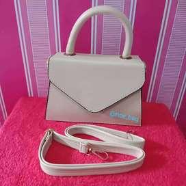 Tas selempang/tas jinjing/tas murah/tas warna mocca