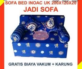 Sofabed inoac 200x120x20