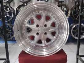 Jual Velg Mobil Mirage, Yaris, Freed Ring 16 BAVARIA HSR Silver