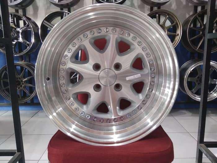 Jual Velg Mobil Mirage, Yaris, Freed Ring 16 BAVARIA HSR Silver 0