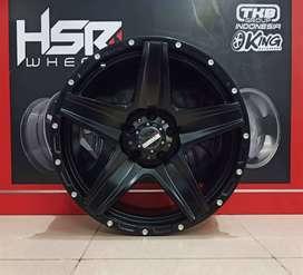 new velg hsr LANDMARK R20 H5x114.3 black