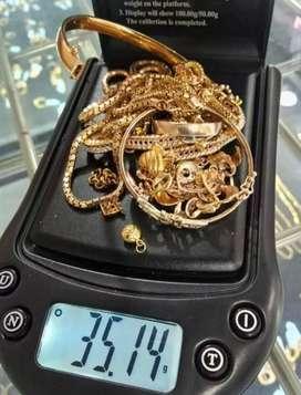 Menerima jual emas, berlian, perak, tanpa surat jg bisa