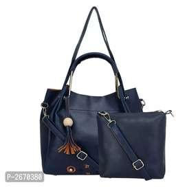 Handbag with sling bag
