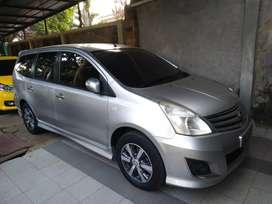 Nissan Grand Livina 2013 HWS Terawat Tangan Pertama NO PR