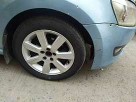 In a good condition new tyre