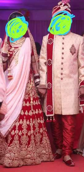 Men sherwani for dulha in awesome condition