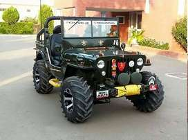 Ramgdiya Full modified Open Jeep ready your