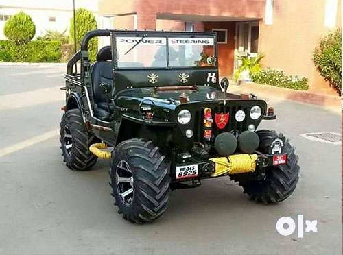 Ramgdiya Full modified Open Jeep ready your 0