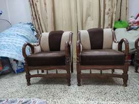 Sofa Set (5 seaters)-Wooden