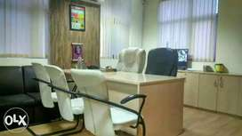 500to 10000 sq fully furnish off spece