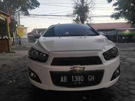 Chevrolet Aveo sonic LT matic 2013/2014 AB tangan 1