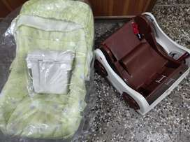 Baby Carry Cot , Chair and Rocker