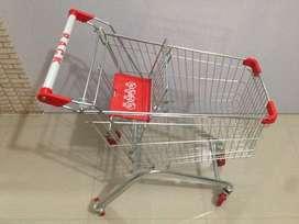 Trolley supermarket minimarket kuat murah