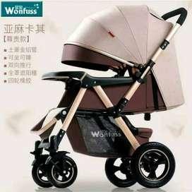 original stroller babyblish wonfuss / stroller murah