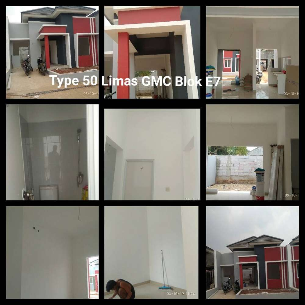 rumah murah dalam cluster, akses stasiun & tol bsd