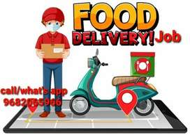 Delivery boy biker