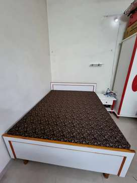 6 × 5 foot bed for sale new condition only 1 year old.