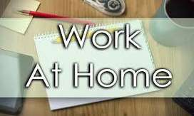 Male / Female Candidates Work at home and earn money