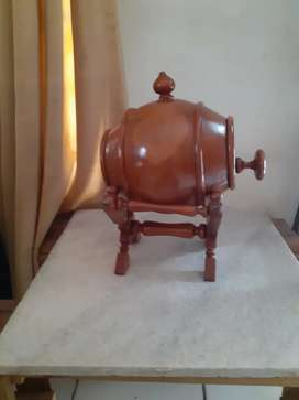 Jual hiasan kayu model Drum Champagne