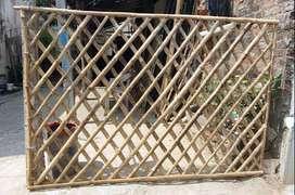bamboo muhartham lader bamboo gate