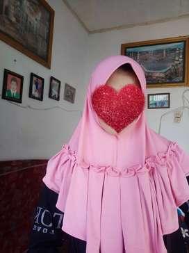 Jilbab instan jersey stella