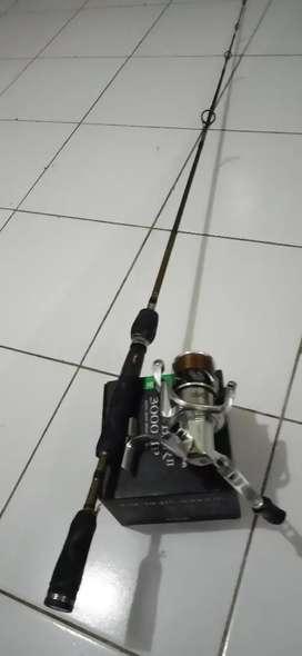 Satu set joran relix dan rell ryobi 3000 HP