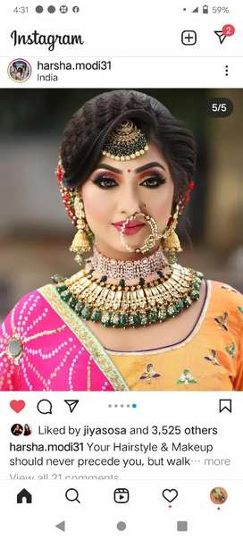 Want to experienced girl for beauty parlour job.