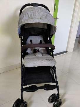 Babyhug pram (stroller with wheels)