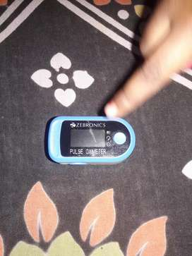 Zebronics brand Pulse oximeter