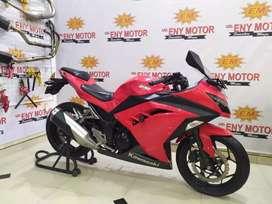 Showroom mokas istimewah ! Kawasaki Ninja 250 FI 2016 kredit/cash/tt