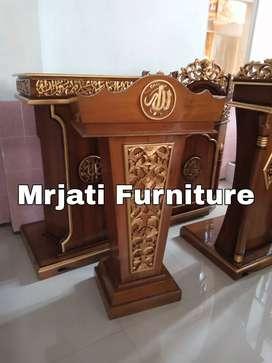 Mimbar podium kantor ( presiden ) Kode-MRJ99.