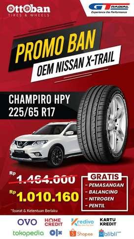 Promo Ban Gt Radial Champiro HPY OEM Nissan X-Trail 225 65 17
