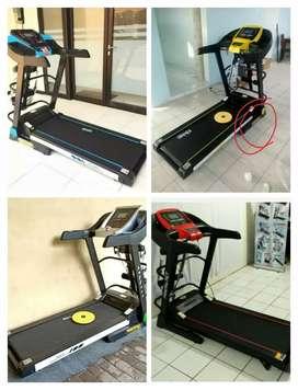 New promo treadmill elektrik 120kg 5-fungsi