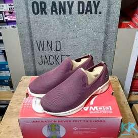 Sepatu Sneakers Skechers Go Walk 4 Women's Mauve Original
