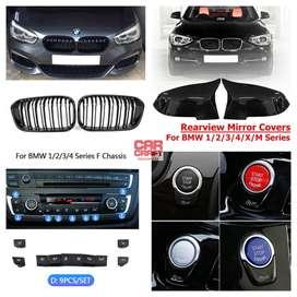 BMW 1 SERIES F20 118D 118I MIRROR VENTS DOOR KNOB BUMPER GRILL