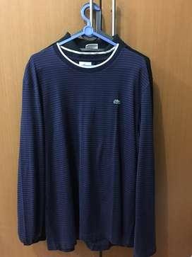 For sale baju lengan panjang Lacoste, original !!
