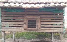 Wooden Hen Coop