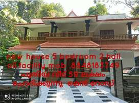 New house 5 bedroom all the facility tiruvalla
