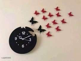Stylish Designer Acrylic Wall Clocks | Unused | FREE CASH ON DELIVERY