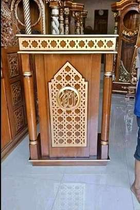 mimbar masjid jati solid 102
