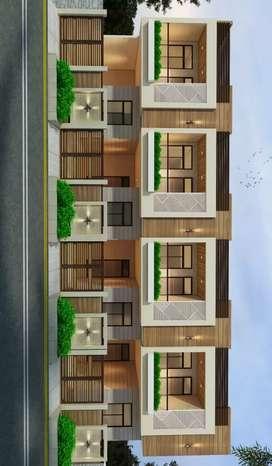 3 bhk duplex villa  kesar circle iskon road