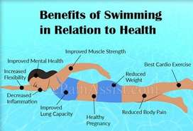 Swim and remain fit