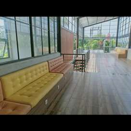 Kursi Sofa Meja Caffe interior HPL bisa custom model freedesain